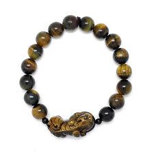 Yellow Tigers Eye Bracelet with Yellow Tigers Eye Tiger