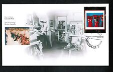 CANADA  2001 MASTERPIECES #14  $1.05 SHADBOLT see scan FDC MLH  #1916 Lot E44b