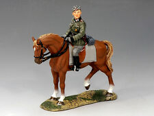KING & COUNTRY FIELDS OF BATTLE FOB055 GERMAN MOUNTED ADJUTANT MIB