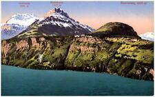 SEELISBERG Schweiz Kanton Uri ~1910 See mit Alpen Berge Oberbauen Niederbauen