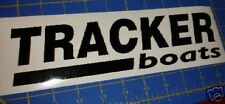TRACKER BOATS  Sticker DECAL Black Bass Boat You get 2!