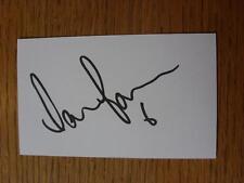 50's-2000's Autographed White Card: Powell, Darren - Southampton