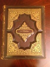 Rare Award Winning1882 Parallel Holy bible By Methodist Protestant,,2000 illustr