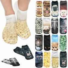 Cotton Animal Print Unbranded Machine Washable Socks for Women