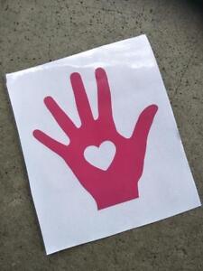 Car safety Hand sticker
