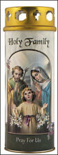 HOLY FAMILY JESUS MARY JOSEPH DEVOTIONAL HOLY CANDLE STATUES AND PICTURES LISTED