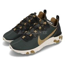 Nike React Element 55 Outdoor Green Golden Beige Men Running Shoes BV6668-355