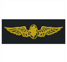 Vanguard NAVY EMBROIDERED BADGE: AVIATION PHYSIOLOGIST - COVERALL