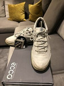 Ecco Mens Biom Gore-Tex Golf Shoe Size 9 Yac Leather Cost £225 Worm Twice . Mint