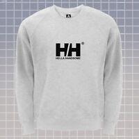 Hella Handsome Sweatshirt Helly Designer Jumper Outfitters Indie Hipster Lit Top