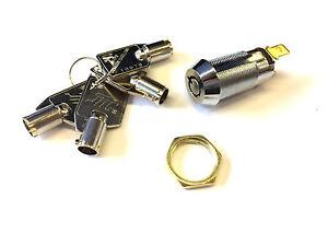 Arcade Machine Cabinet Cupboard Mailbox Safety Keyed 50mm Tubular Cam Lock