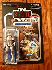 Star Wars Vintage Collection CLONE COMMANDER CODY Silver Foil ROTS Revenge VC19