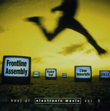 Best Of Electronic Music Vol.3 2cd 2001 Blutengel unheilig Hocico Feindflug