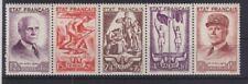 Frankreich 1943  Mi. 589 - 593 Nationale Hilfe postfrisch MNH