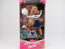 Barbie Doll 1996 Mattel Penn State University Cheerleader Special Edition New