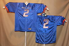 BOISE STATE BRONCOS  Nike  #2   FOOTBALL JERSEY  Large  NWT   $60 retail   blue