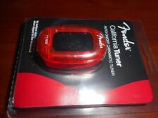 NEW Fender FT-1620 California Chromatic Tuner, CANDY APPLE RED, 023-9981-009
