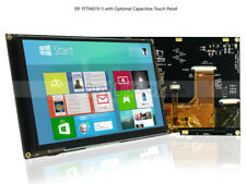 """7""""inch TFT LCD Module w/Multi-Capacitive Touch Screen Panel,I2C,SPI,Tutorial"""
