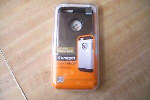Spigen Apple iPhone 6 /6S [Slim Armor]Case Cover Shockproof SGP10959 Gunmetal