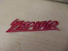 Zepyhr Zephyr ZR550 ZR750 ZR1100 KAWASAKI Emblema réplica cose en Parche de hierro