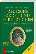 Deutsche Orden und Ehrenzeichen Deutsches Reich DDR BRD Buch Nimmergut Katalog