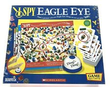 I Spy Eagle Eye Scholastic Board Game Briarpatch Inc MIB Sealed Ages 5+
