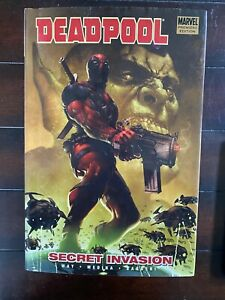 Deadpool: Secret Invasion Vol 1 Hard Cover Marvel Trade CL75-128