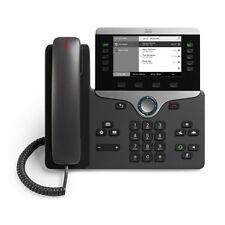 New CP-8811-K9 Cisco Unified IP VOIP Greyscale Telephone Phone 8800 Series