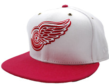 Detroit Red Wings New Era 9FIFTY NHL Red Primary Strapback Hockey Cap Hat M/L