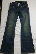 "Hydraulic Womens Sz 5 / 6  Jeans Vintage Wash Boot Cut - Light Flare 28"" x 33"""