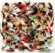 Assortment of Trout Flies for Fly Fishing Wet Dry Nymph Buzzers Qty 10 25 50 100