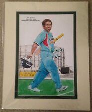 Sachin Tendulkar Print 4th Cricket Test Oval England vs India August 2011