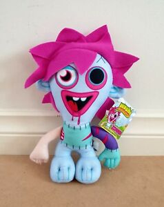 Moshi Monsters – Zommer 22cm Plush Soft Toy New With Tags