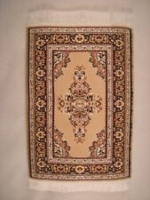 Persian Beautiful Woven Miniature Dollhouse Carpet Rug Furniture Pad Decorative