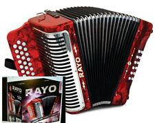 RAYO-G Acordeon GCF Hohner RAYO Accordion 31 button Nuevo tono SOL