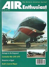 AIR ENTHUSIAST MAY-JUN 97: CONESTOGA RB-1/MILES JETS/ EGYPTIAN VAMPIRES/KHMER AF