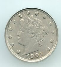 1901-p Liberty head Nickel (ICG AU 53) SEE PROMOTION