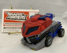 Transformers Animated Optimus Prime Voyager COMPLETE
