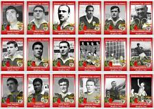 Benfica European Cup winners 1962 football trading cards
