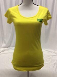 Asics ONITSUKA TIGER CORNER Women's Athletic Shirt,100% Cotton Yellow, Size S