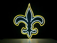 "New Orleans Saints Neon Lamp Sign 20""x16"" Bar Light Beer Glass Windows Display"