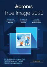 Acronis True Image 2020 5 PC / MAC BACKUP SOFTWARE