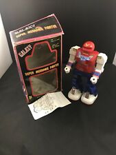 VTG Galaxy Super Mechanic Fighters Battery Operated Toy Robot With Box Tested