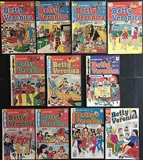 BETTY AND VERONICA COMICS. Bronze Age Lot. Archie. Jughead. Reggie. Ships Free