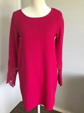 Everly Dress Size Small Bright Pink Long Sleeve