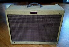 "Fender Blues Deluxe USA 40 watt tweed Tube Amplifier  12""  Not-A-Reissue"
