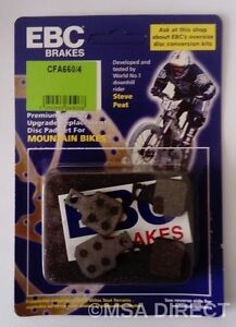EBC Resin (GREEN) Mountain Bike Disc Brake Pads Fits MAGURA MT5 / MT7 (2015 on)