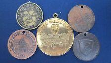 Medaillen Lot Korbach Freibad und 4 St. Korbacher Schnadezug (L61)