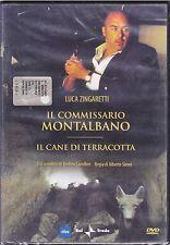 Dvd **IL COMMISSARIO MONTALBANO ♦ IL CANE DI TERRACOTTA** nuovo 2003