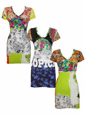 Desigual Scoop Neck Tunic, Kaftan Tops & Shirts for Women